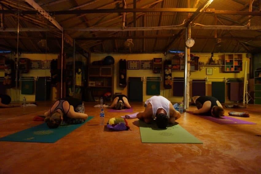 Zajęcia Jogi podczas Kursu Nauczycielskiego Jogi (200h), Tailandia, Krabi, Ao Nang, Marina Yoga and Reiki, Lis 2015