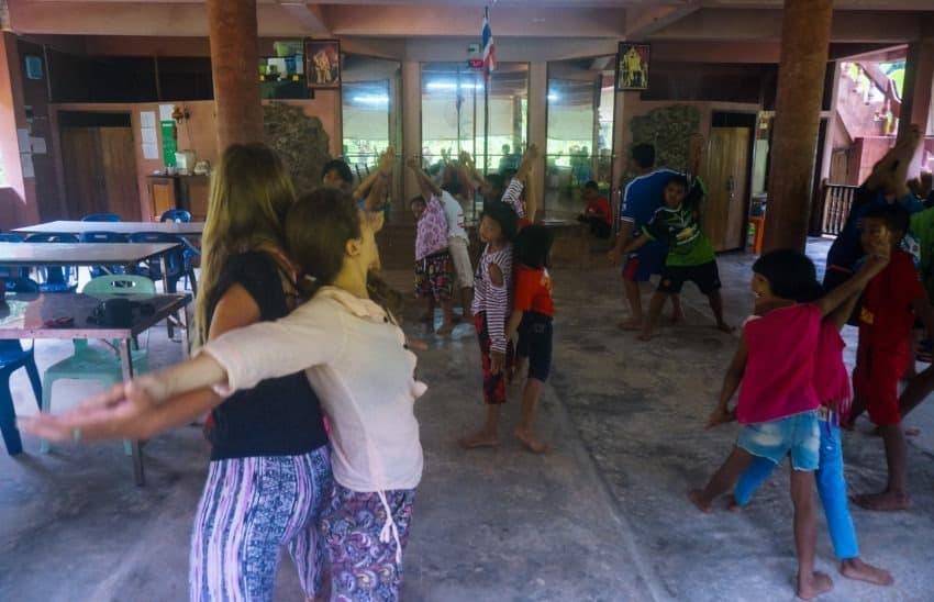 Joga dla dzieci, Tajlandia, Paksong, Eco-Logic Yoga Retreat, Lip 2015