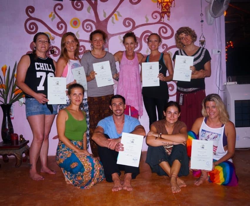 Joga - kurs nauczycielski Tajalndia, Krabi, Wrzesień 2015