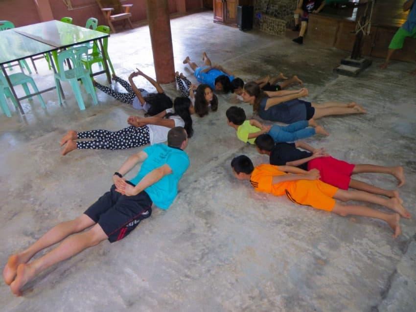 Joga dla młodzieży, Tajlandia, Paksong, Eco-Logic Yoga Retreat, Lip 2015