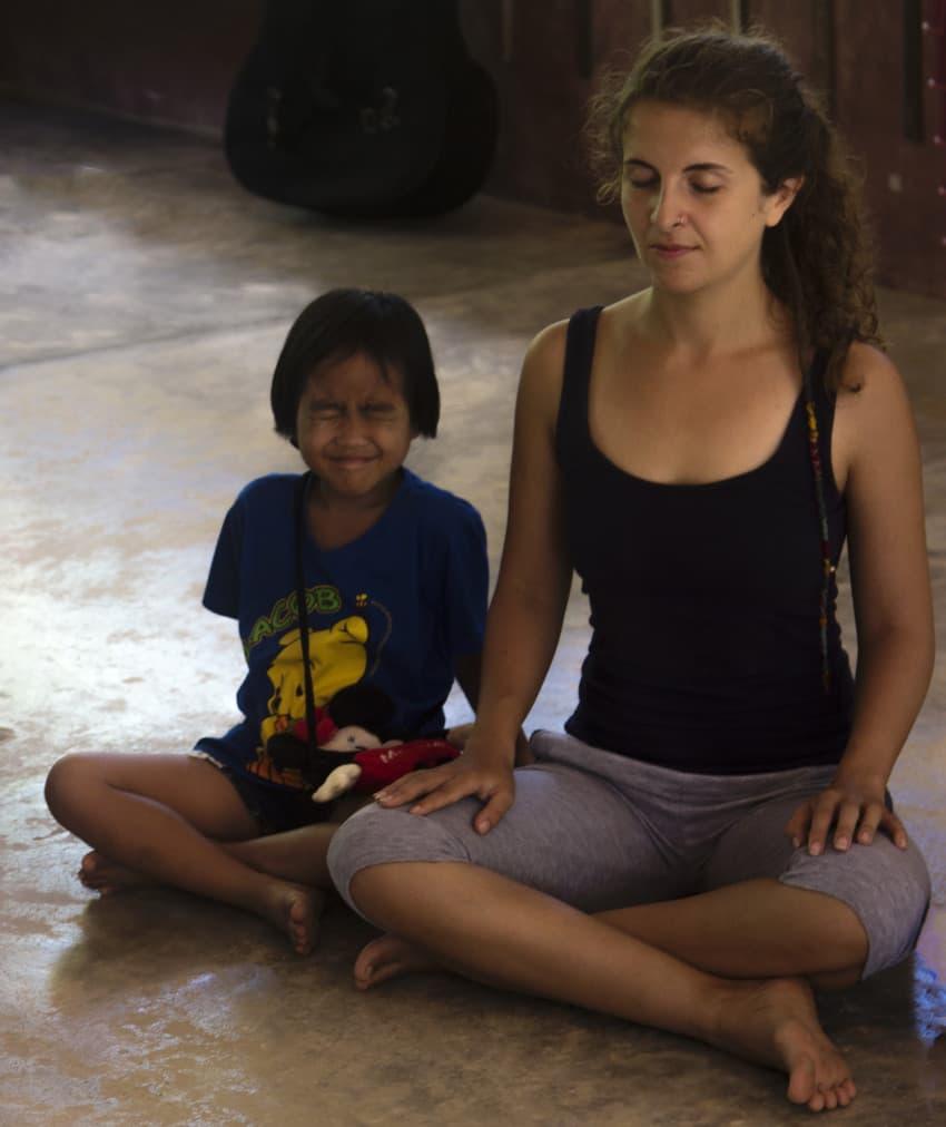 Joga dla dzieci, Tajlandia, Paksong, Eco-Logic Yoga Retreat, Mar 2016