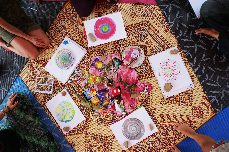 Medytacja zwiększa kreatywność