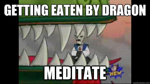 Medytacja - największa broń Jogina i Jedi (Gwiezdne Wojny a Joga)