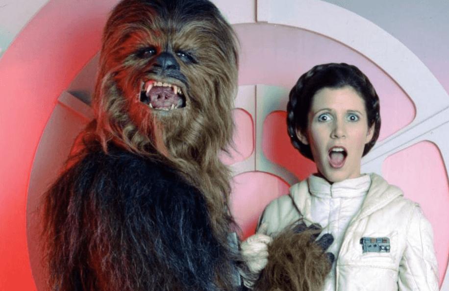 Star Wars (Gwiezdne Wojny) - Chewbacca i Leia