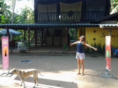 Wyjazdy z jogą - pierwszy dzień kursu na nauczyciela jogi. Tajlandia, Koh Phangan, wrzesień 2014