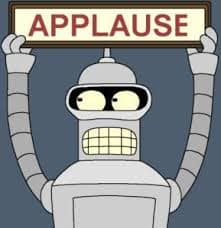 Rytuał musi być satysfakcjonujący emocjonalnie, czyli karmić ego Bendera (Futurama)