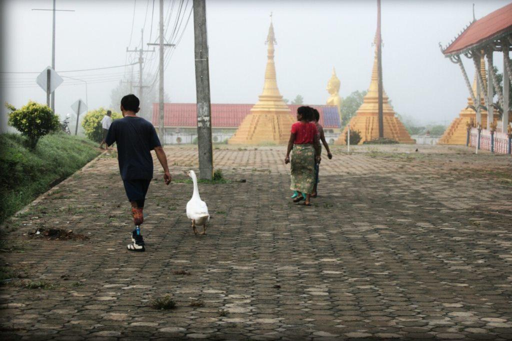 Tajlandia poza szlakiem - kobieta-kot, facet z gęsią, ludzie Mon i LSD stories