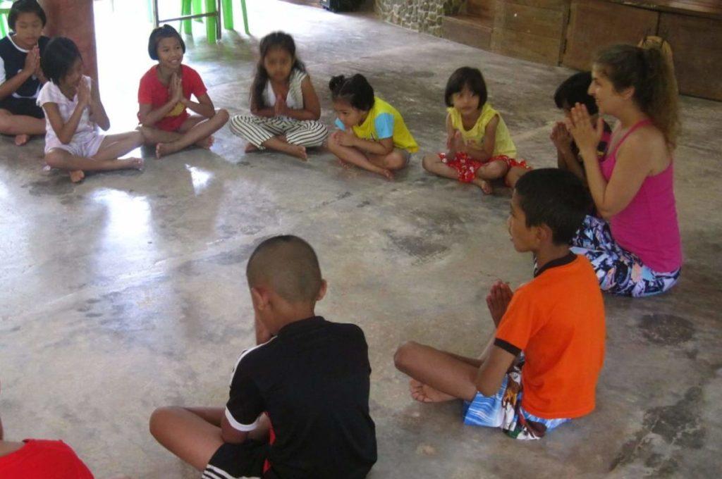 Joga dla dzieci, medytacja dla dzieci