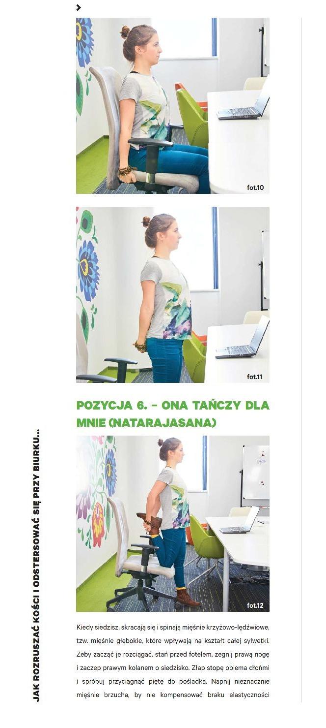 Joga w biurze - proste ćwiczenia, które możesz wykonać przy biurku