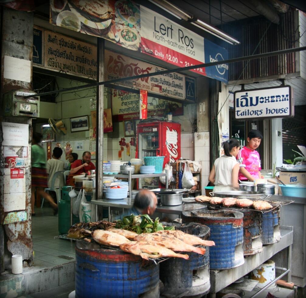 Chiang Mai, lokalne jedzenie
