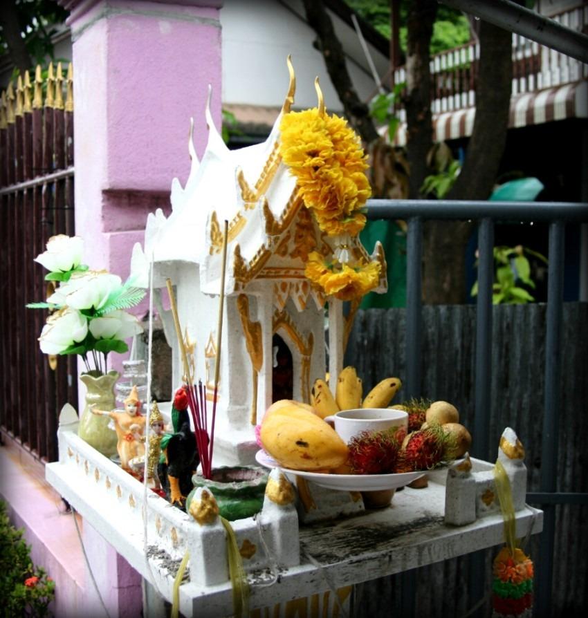 Tajlandia - domek dla duchów