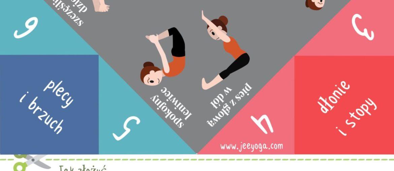 Naucz dzieci 8 pozycji jogi z tą prostą grą – będą bawić się z innymi