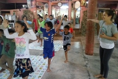 Joga i medytacja w szkole