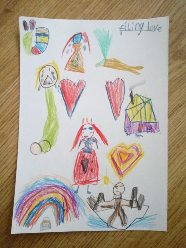 Dzieci mają naturalny dar kreatywnego wyrażania siebie